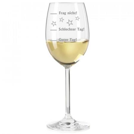 Leonardo Weißweinglas mit Gravur