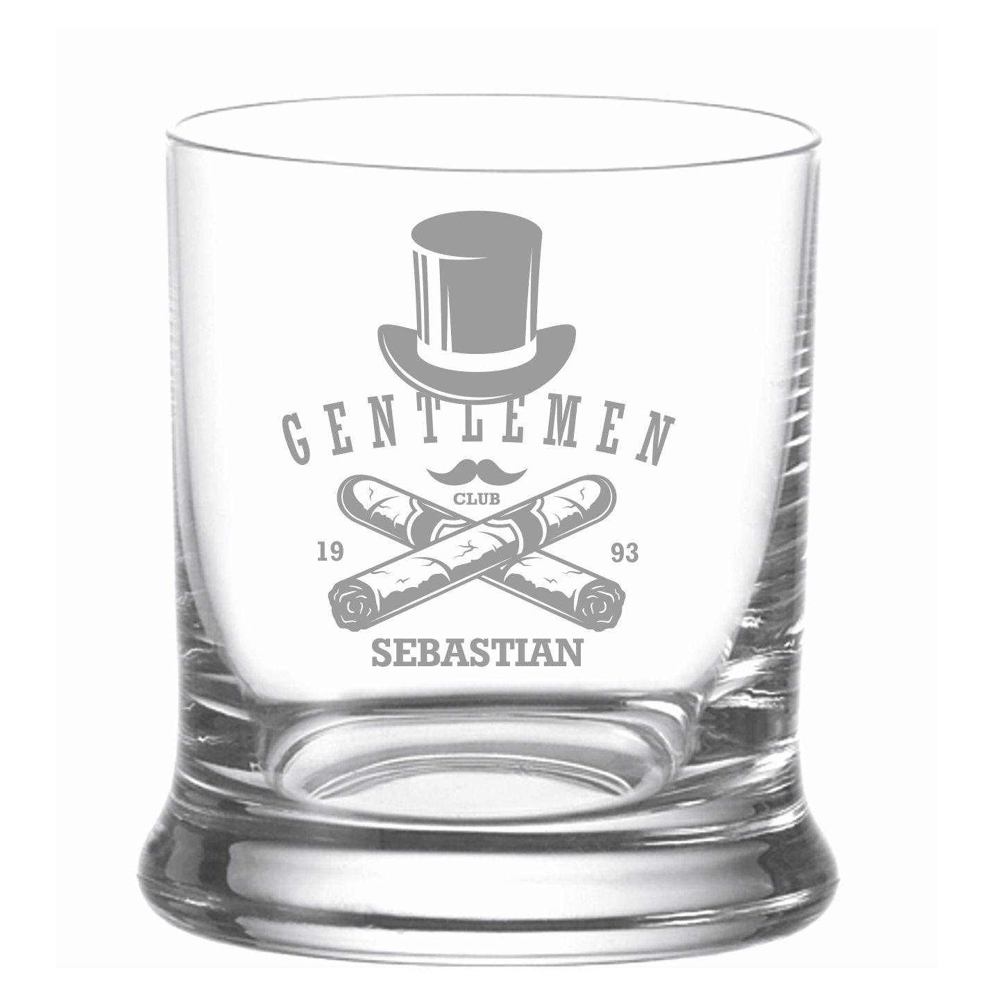 whiskyglas mit gravur gentlemen 1 mit name graviert. Black Bedroom Furniture Sets. Home Design Ideas
