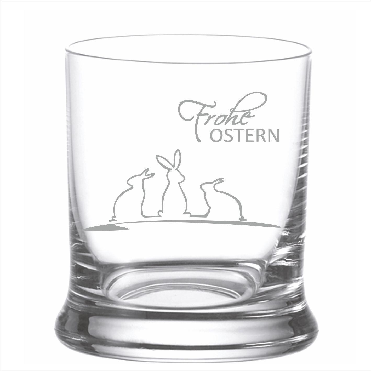 Whiskyglas mit Gravur frohe Ostern   Geschenk zu Ostern - laser ...